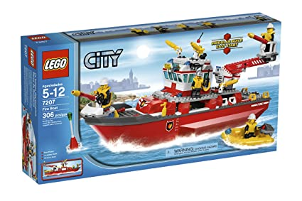 Amazon Lego City Fire Ship 7207 Toys Games