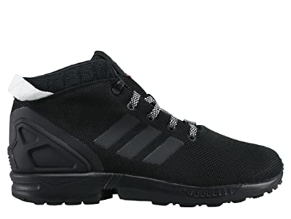 Black Shoes adidas ZX FLUX 5 8 (S75943) 43 1 3 -  Amazon.co.uk ... db22c8128e82