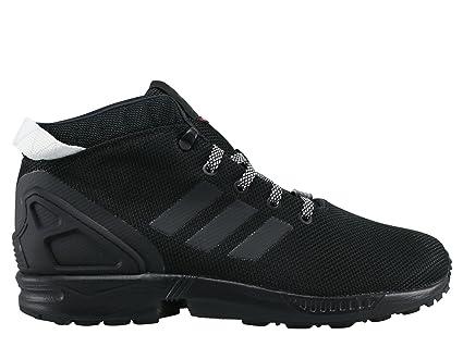 a068021b0959 Black Shoes adidas ZX FLUX 5 8 (S75943) 43 1 3 -  Amazon.co.uk ...