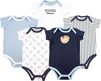 18-24 months Gerber Short Sleeve Onesies Girls Daisy Design 4 Pack