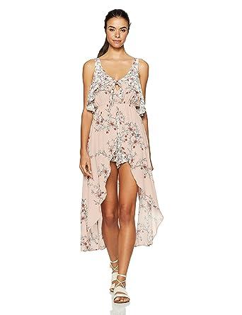 1797c78be49 Amazon.com  Somedays Lovin Women s Sweet Sakura Floral Print Maxi ...