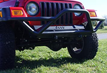 Outland 391151103 Textured Black Brush Guard for Jeep YJ Wrangler