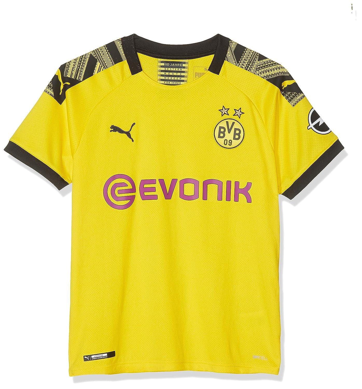 PUMA Children's BVB Home Shirt Replica Jr with Evonik Opel