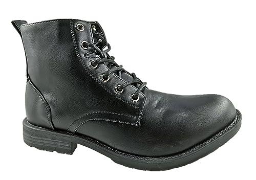 Zapatos estilo militar Viva para hombre KQMdL