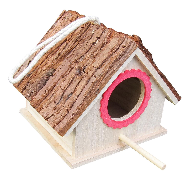 Corteza de árbol de techo Casa de pájaros para azul Tit, Lark, Sparrow, montado (listo para usar), pájaros caja nido para pájaro y Chickadee especies HANGZHOU FITTOOLS CO. LTD. 848007