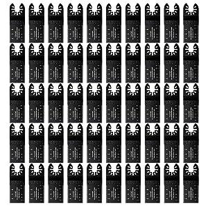Vtopmart 50 Wood Oscillating Multitool Quick Release Saw Blades Fit Fein Multimaster Porter Cable Black & Decker Bosch Dremel Craftsman Ridgid Ryobi Makita Milwaukee Dewalt Rockwell Chicago