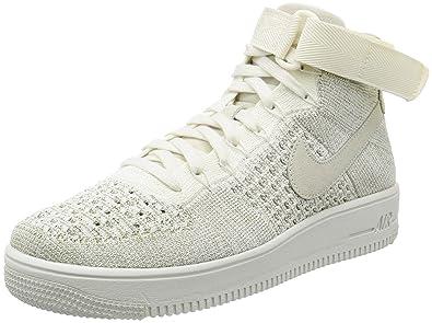 new concept 26973 b76da ... ireland nike mens af1 ultra flyknit mid sail sail pale grey basketball  shoe 8 men 7a14c