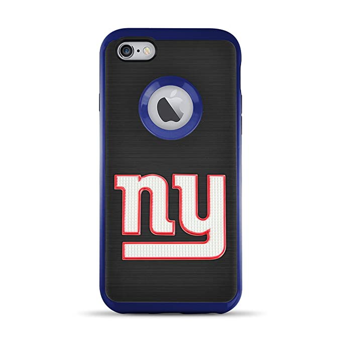 best cheap 731b9 75582 MIZCO SPORTS iPhone 6s/6 Flex Licensed Case with 3D Steel Cut Logo - NFL  New York Giants