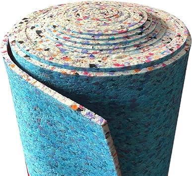 10mm Thick Pu Foam Carpet Underlay 15m2 Per Roll Amazon Co Uk Diy Tools