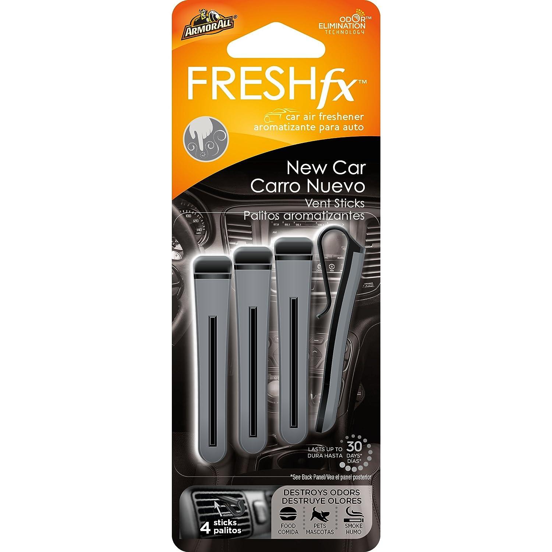 Amazon.com: Armor All 18539-4PK FRESH fx Car Air Freshener Vent Sticks New Car Scent 16 count (4x4 Pack): Automotive