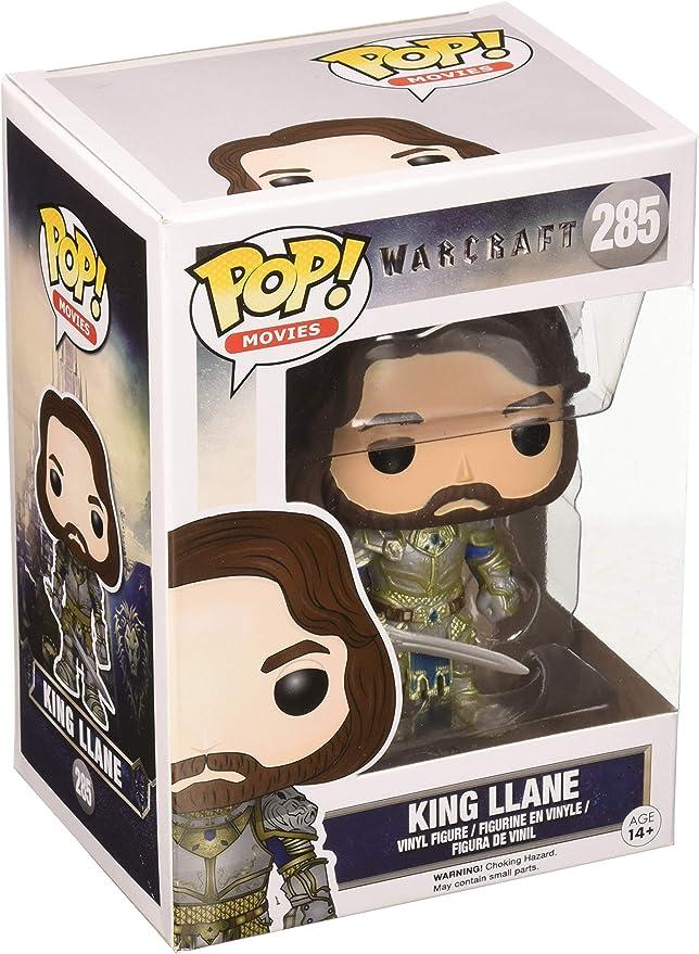 Cool Vinyl Figure Movies Warcraft KING LLANE #285 NEW Funko POP