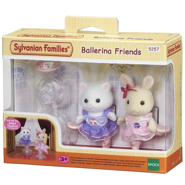 SYLVANIAN FAMILIES- Ballerina Friends Mini Muñecas Y Accesorios, (Epoch para Imaginar 5257)