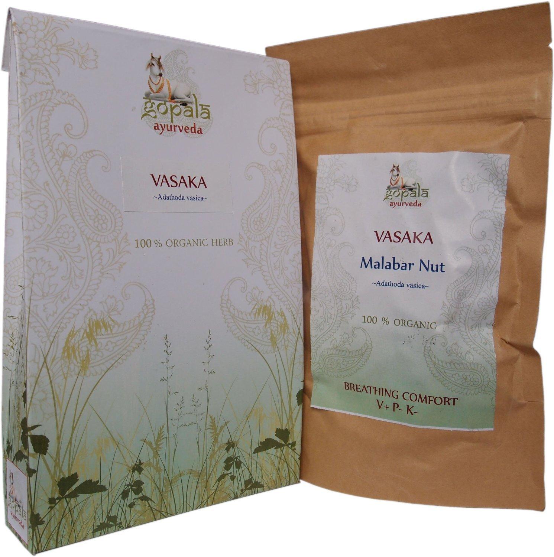 VASAKA CAPSULES (USDA CERTIFIED ORGANIC) - 90 Vcaps by Gopala Organic