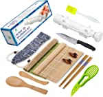 Sushi Making Kit - All In One Sushi Bazooka Maker with