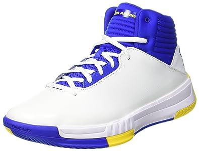 outlet store 1ef63 ec79e Under Armour Ua Lockdown 2, Men s Basketball Shoes, White  102 (White),