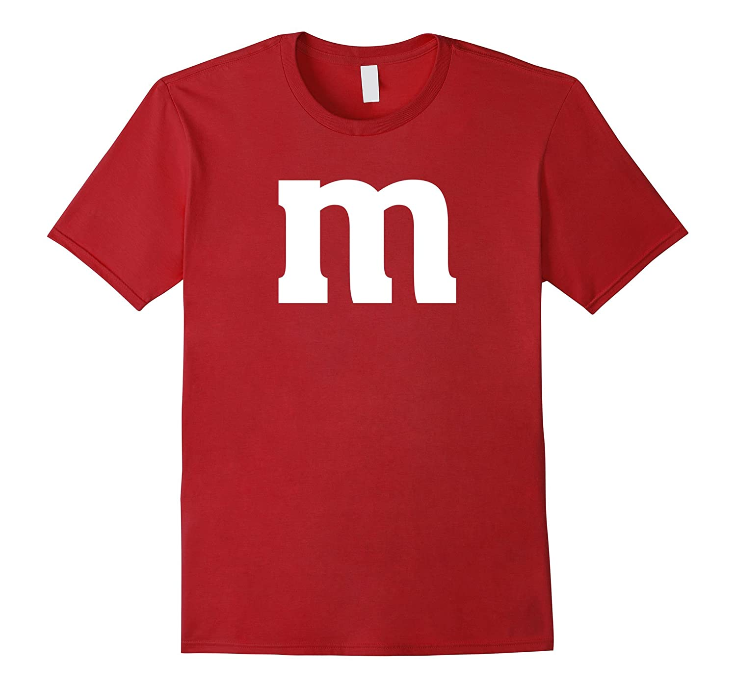 M And M Candy Costume Halloween T-shirt-BN