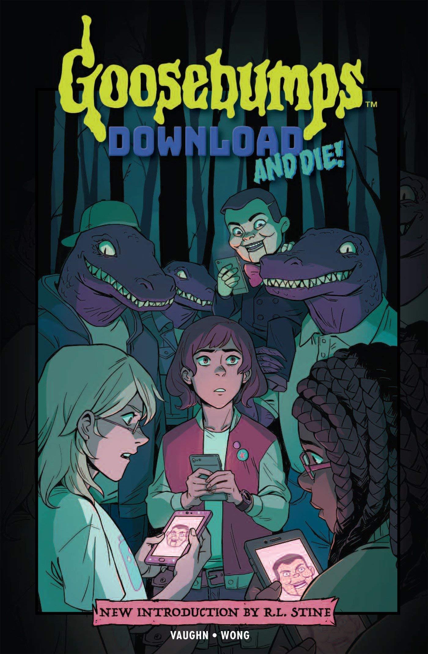 Goosebumps: Download and Die! pdf epub
