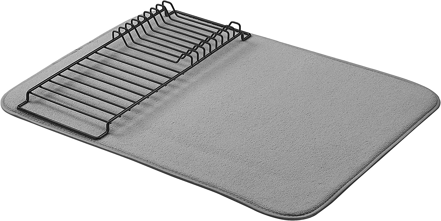 "AmazonBasics Drying Rack - 18""x24"" - Charcoal/Black"