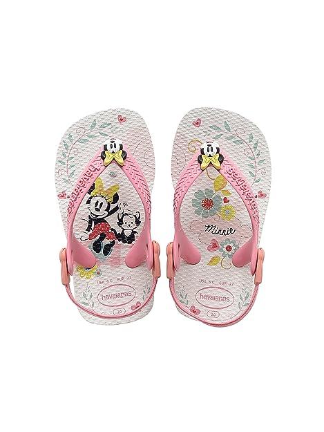 Minnie Havaianas Br 19 diseño de mujer con Mouse en, Unisex Babies zapatillas de