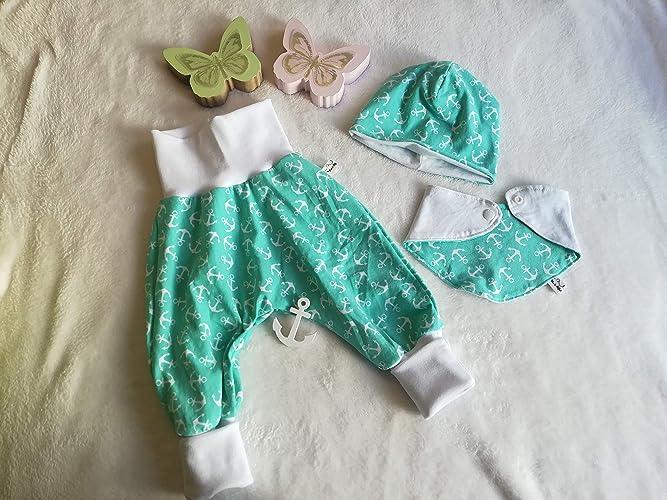 Baby Pumphose 50 56 62 68 74 80 86 92 Hafenkitz Beere Jersey handmade