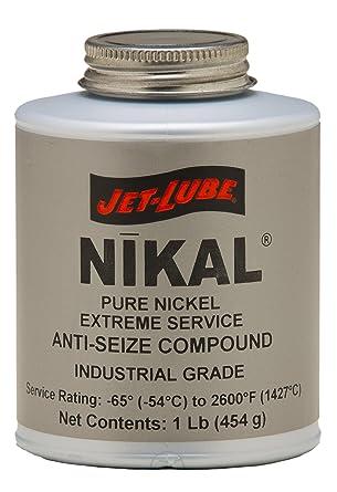 Amazon.com: jet-lube puro níquel extremo Anti-Seize e hilo ...
