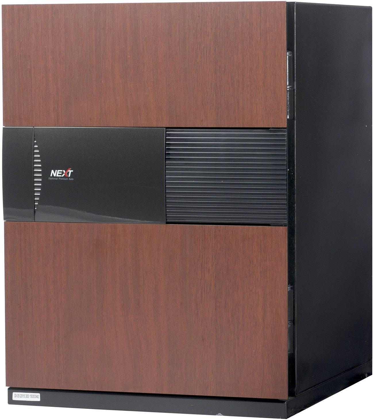 Phoenix NEXT Digital Lock Luxury Fireproof Safe with Cherry Door 2.7 cu ft