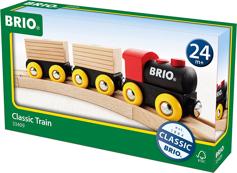 Brio World 33409 Classic Houten Transporttrein Amazon Nl