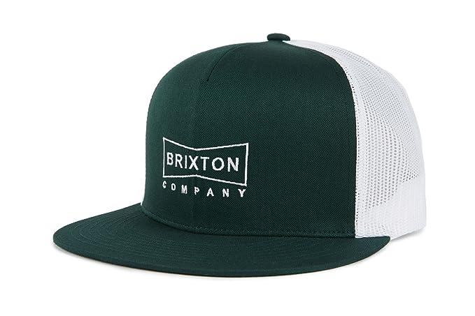 e500633ce Brixton Men's Wedge HP MESH Cap Baseball, Pine, One Size: Amazon.co ...