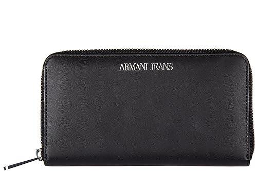 Armani Jeans monedero cartera bifold de mujer en piel nuevo ...