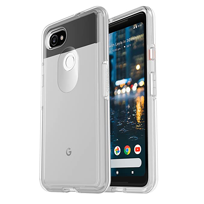 info for eb176 94da6 OtterBox Symmetry Clear Series Case for Google Pixel 2 XL - Retail  Packaging - Clear