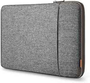 Inateck 13-13.3 Inch 360 Degree Shockproof Laptop Sleeve Case Compatible with MacBook Pro 2012-2015 (A1425/A1502) and MacBook Air 2010-2017(A1369/A1466) - Gray