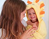 Premium Hooded Towel for Kids   Lion Design   Ultra Soft and Extra Large   100% Cotton Bath Towel with Hood for Girls or Boys by Little Tinkers World