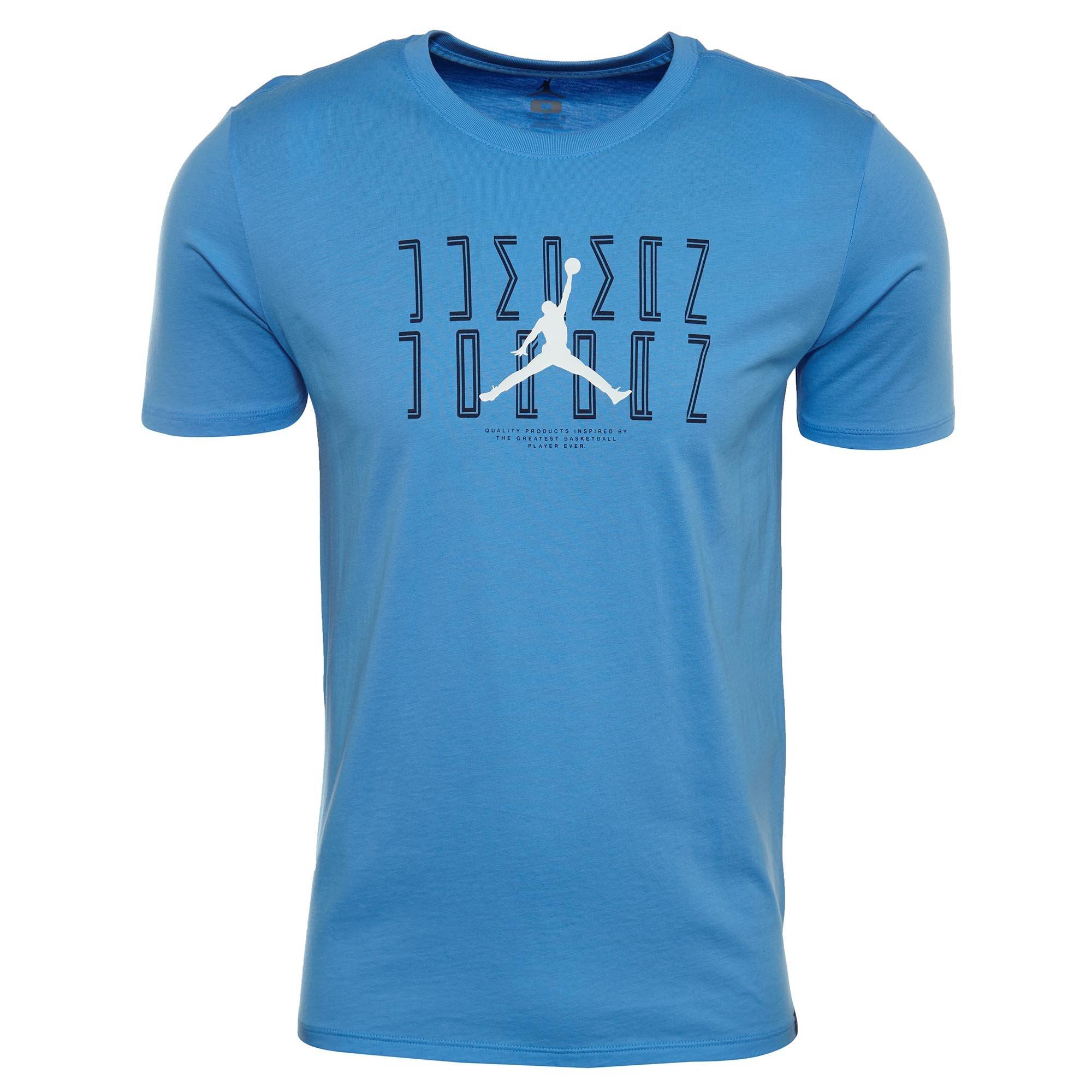 Jordan Men's Sportswear AJ 11 Graphic T-Shirt (University Blu/Mid Navy, L)