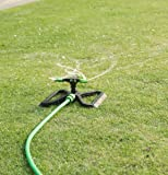 Divine Tree 3 Arm Sprinkler 360 Degree Rotating Automatic Garden Sprinkler Lawn Irrigation System Durable Water Sprayer