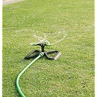 Divine Tree 3 Arm Sprinkler 360 Degree Rotating Automatic Garden Sprinkler Lawn Irrigation System Durable Water Sprayer