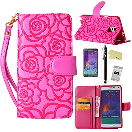 Amazon.com: Galaxy Note 4 Funda, Galaxy Note 4 Checkered ...