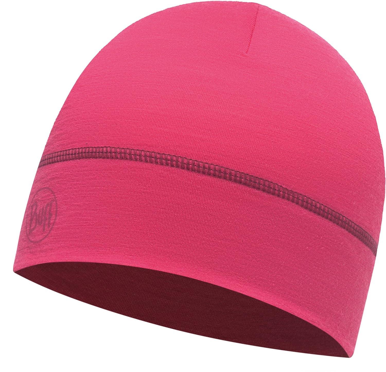 Buff Lightweight Merino Wool 1 Layer Hat Mütze Solid Black One Size Original Buff S.A.