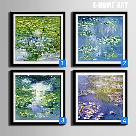 Modylee Espino blanco enmarcado cuadro linóleo cuadros ...
