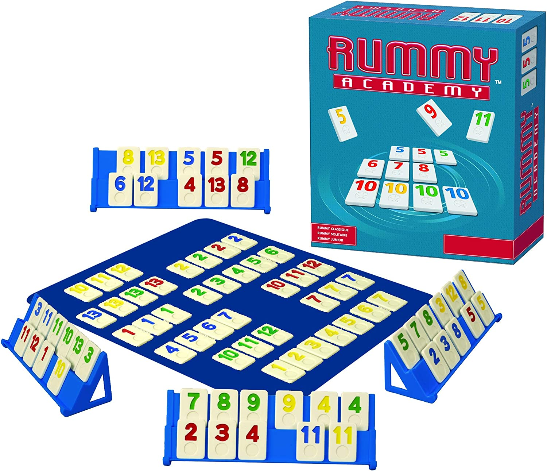 Spot Games - Rummy Academy + Rummy Juegos de Viaje=2 Juegos: Amazon.es: Juguetes y juegos