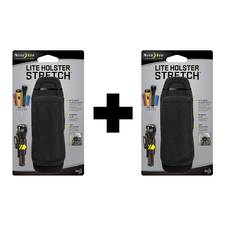 Nite Ize Lite Holster Stretch Flashlight Holster (2-Pack)