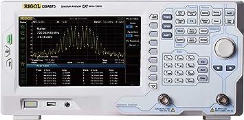 Rigol DSA832-TG - Bandwidth Range Max: 3 2 Ghz, Bandwith Range Min: 7 kHz
