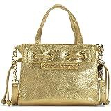 Juicy Couture Gold Leather Mini Mini Daydreamer Bag