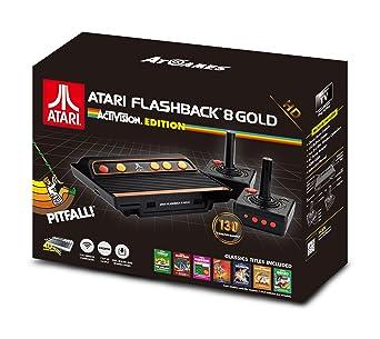 atari flashback 9  : Atari Flashback 8 Gold: Activision Edition with 130 ...