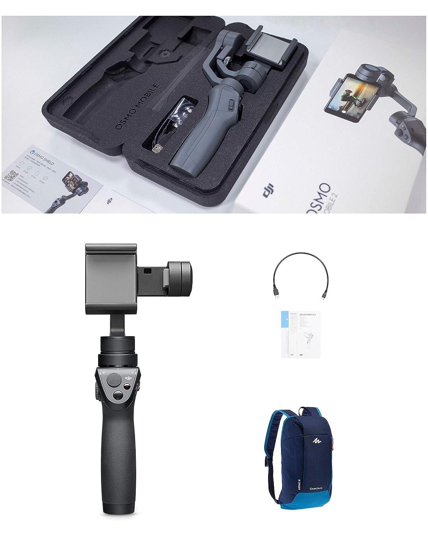 DJI Osmo Mobile 2 Handheld Smartphone Gimbal Stabilizer Backpack Bundle Polares