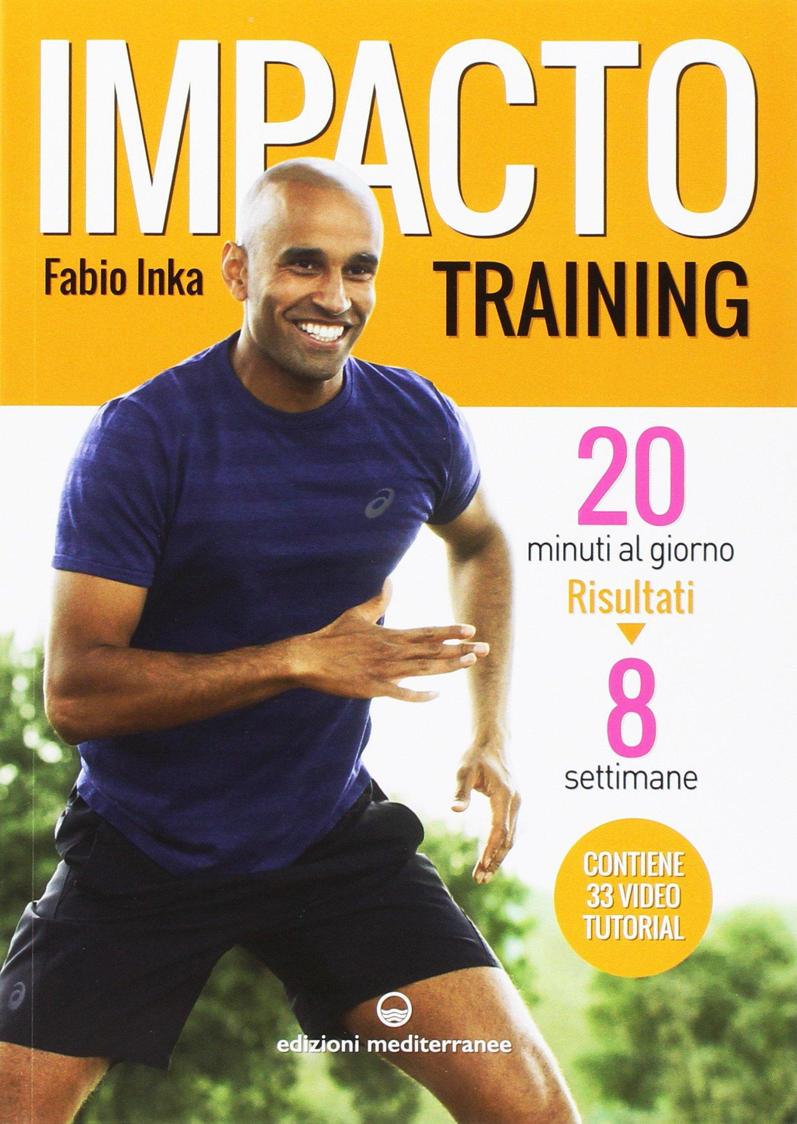 Impacto Training Calendario.Amazon It Impacto Training 20 Minuti Al Giorno Risultati 8