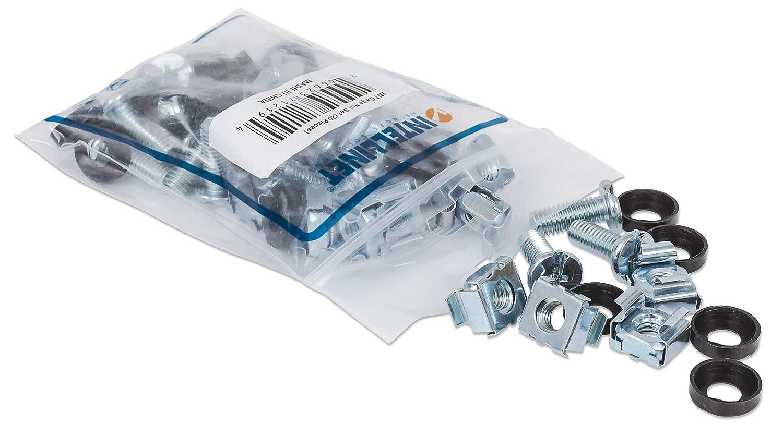 Intellinet Schraubensatz 20er-Pack silber 712194
