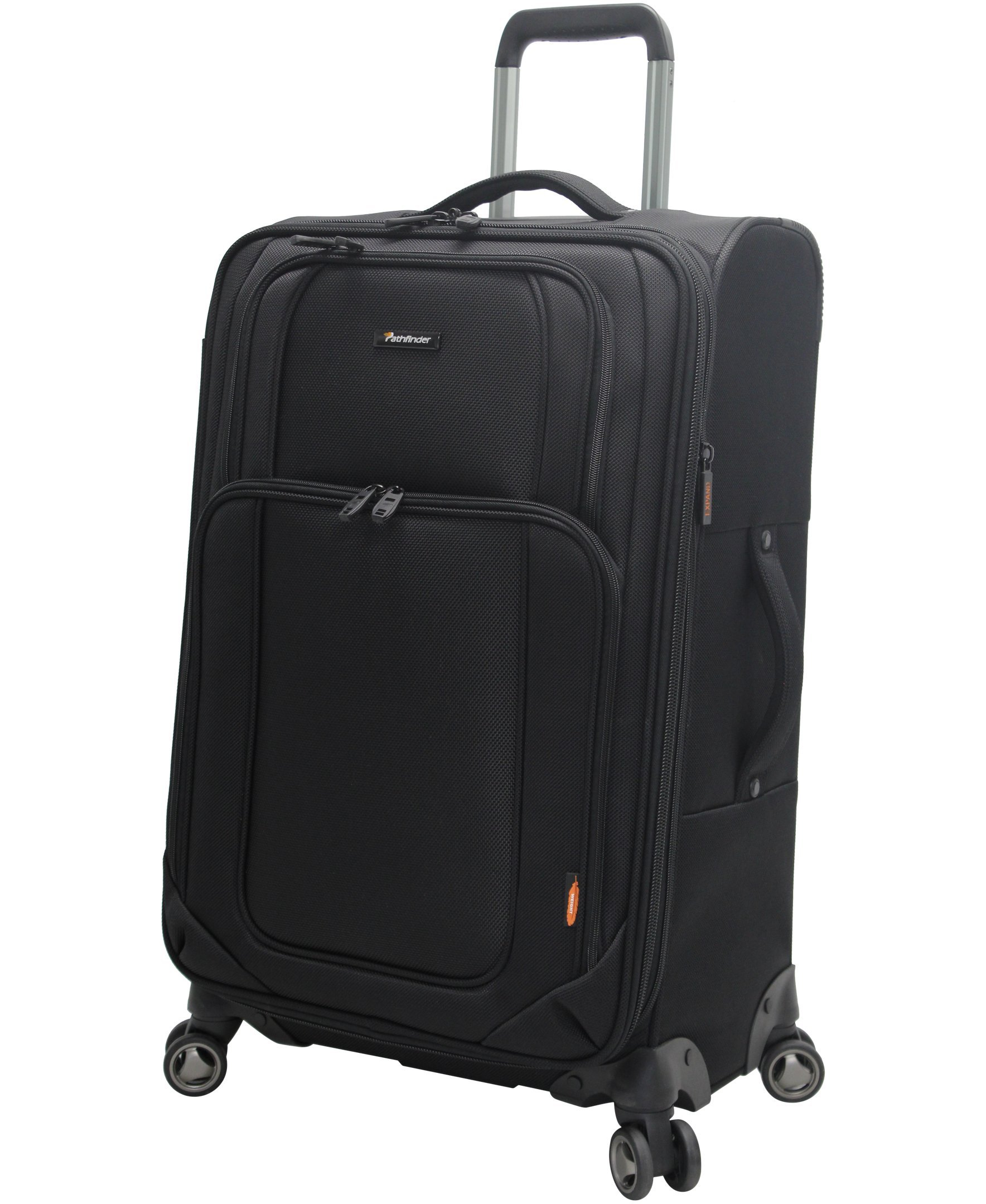 Pathfinder Luggage Presidential Large 29'' Suitcase With Spinner Wheels (29in, Black)