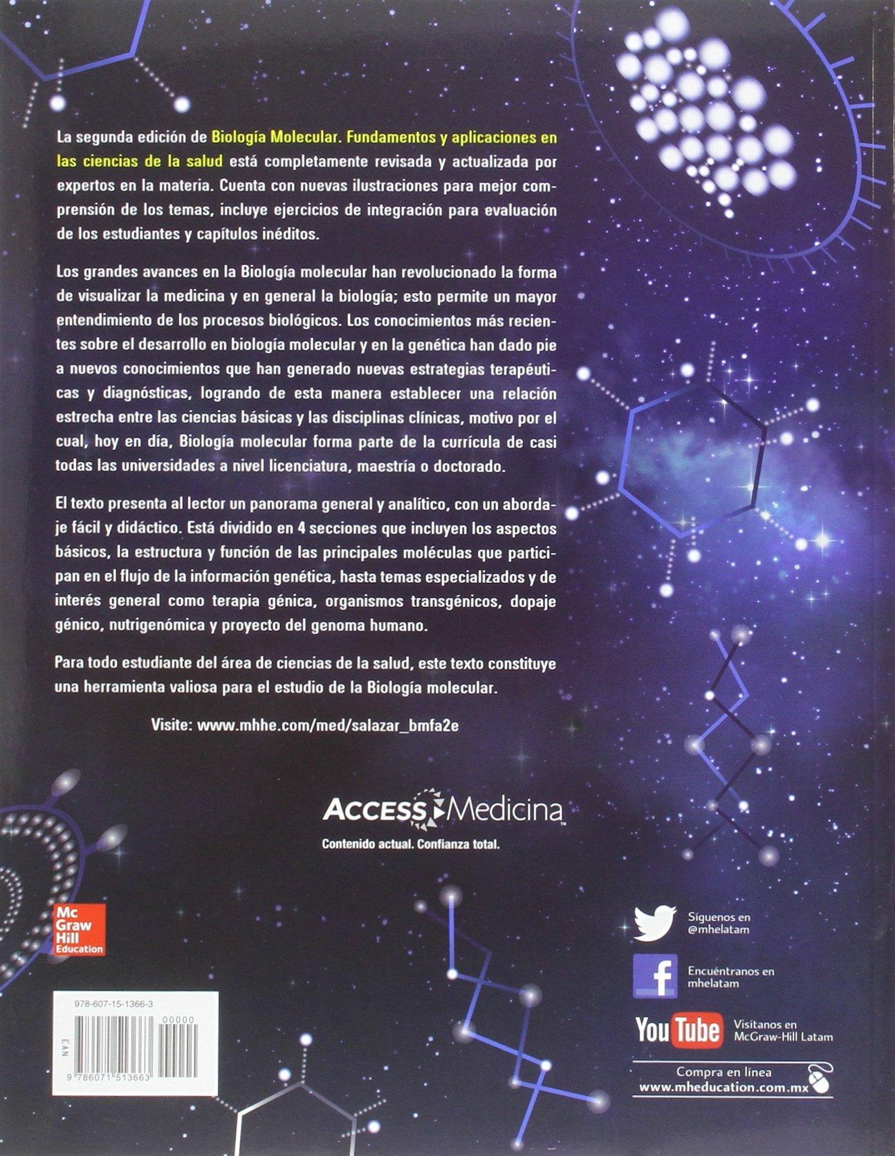 Principios De Biologia Molecular Armendariz 9786071513663