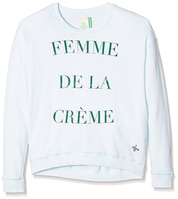 Dear Tee Sudadera Femme DE LA Creme, Mujer, Green, L: Amazon.es: Ropa y accesorios
