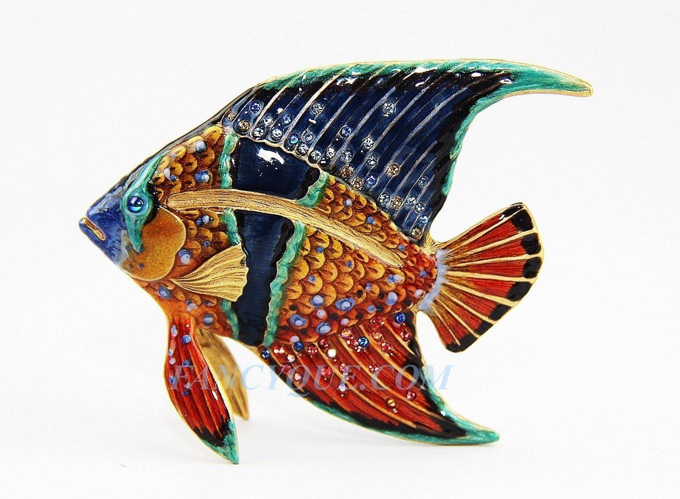 Jay Strongwater Tropical Fish, Grotto Swarovski New NO Box